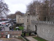 Tourists Outside Tower Of London