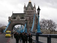 One Of Tower Bridge Pictures - Tourists