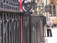 Iron Fence Near Westminster Abbey