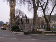Big Ben - view from Parliament Square