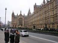 Cars Outside Houses Of Parliament