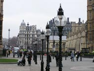 Street Lights Houses Of Parliament