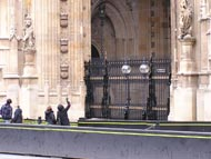 Wrought Iron Gates Houses Of Parliament