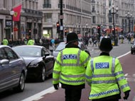Police Officers In Oxford Street