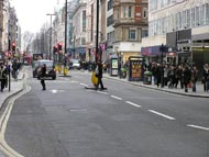 Quiet Day In Oxford Street