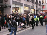Rally In Oxford Street