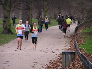 Runners In Hyde Park