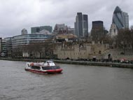 River Thames And London City