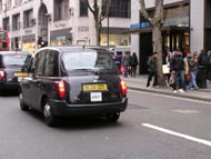 Saturday Afternoon Black Cab Taxi